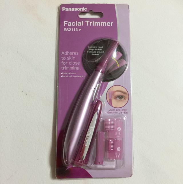 Bnip Panasonic Facial Trimmer Es2113 P Health Beauty Makeup On