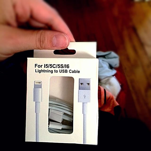 Brand New iPhone 5c-5s Charger