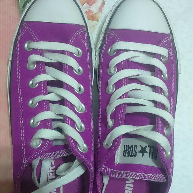 Converse 全新 螢光紫 霓虹紫