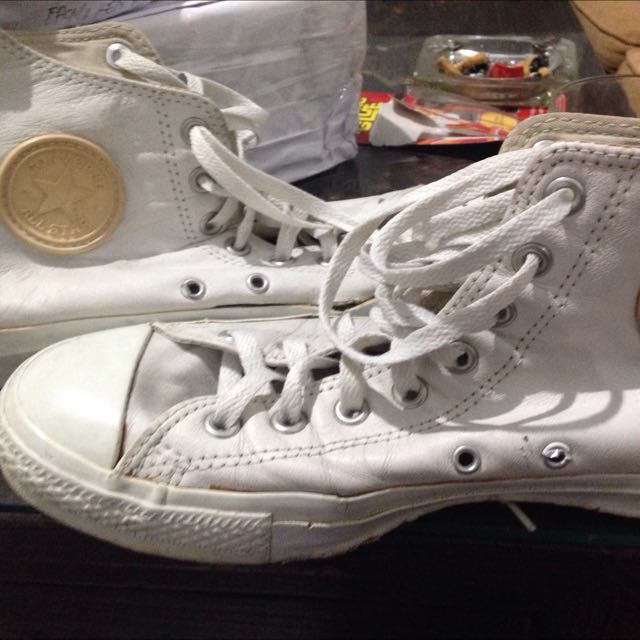 Converse HI Leather White