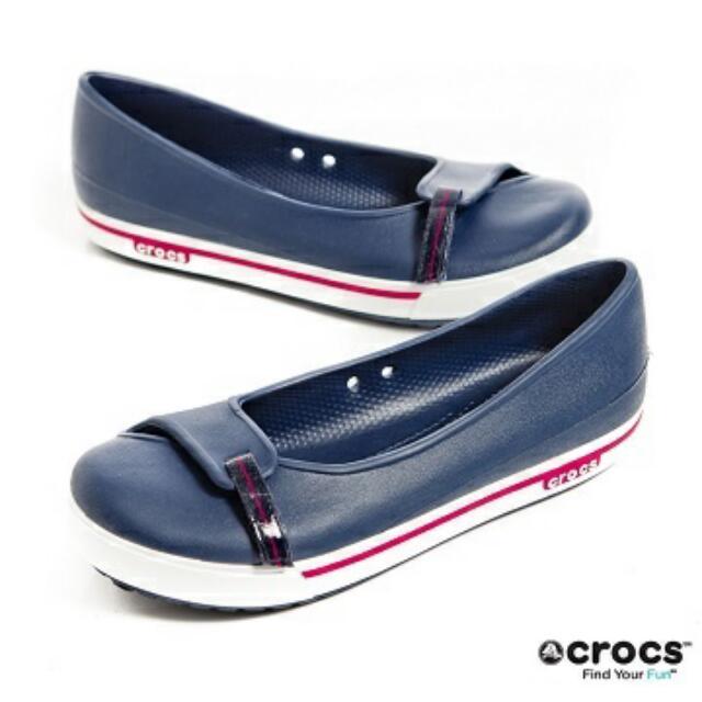 #二手 crocs 輕便防水包鞋