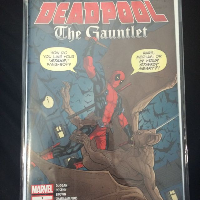 Dead Pool Comic Book