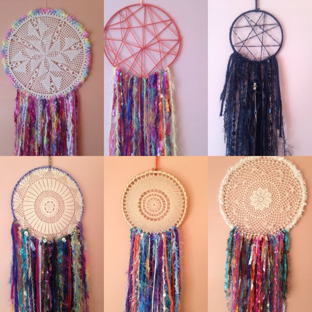DreamCatchers-Beautiful Handmade Mixed
