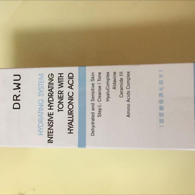 Dr.wu 玻尿酸保濕化妝水