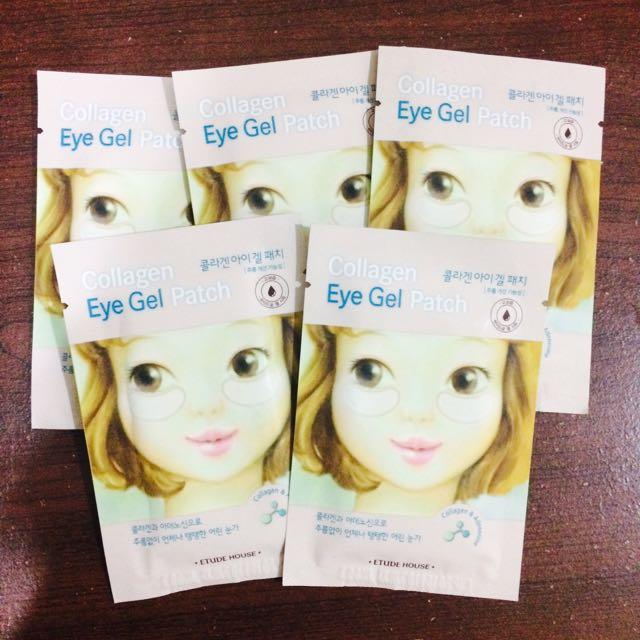 ETUDE HOUSE - Collagen Eye Gel Patch