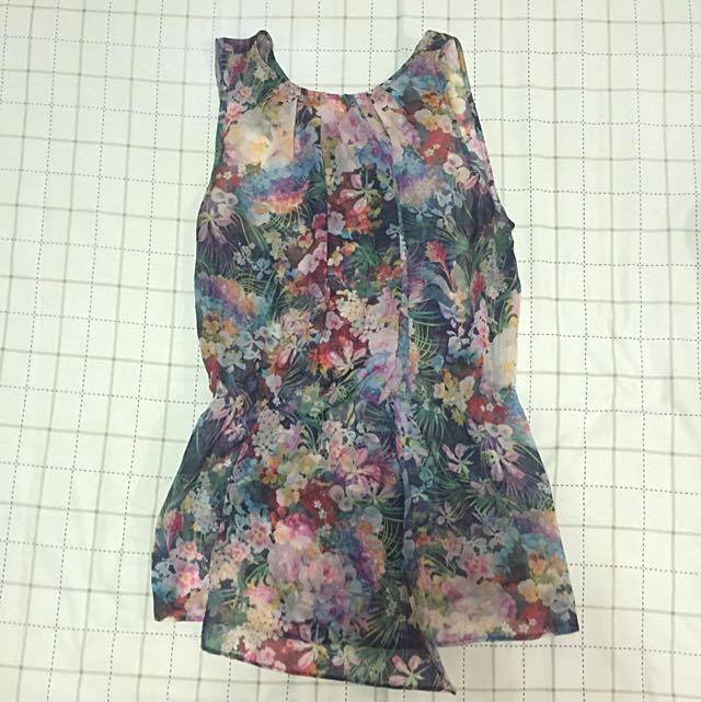 Floral Cloth