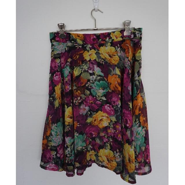Floral skater shirt - Size 8