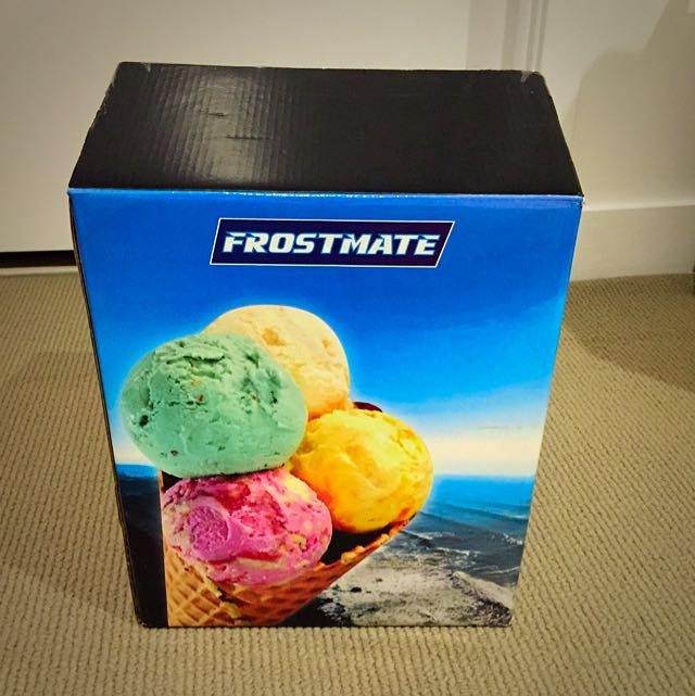 Frostmate Icecream Maker