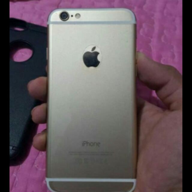 Gold iPhone 128gb Factory Unlocked