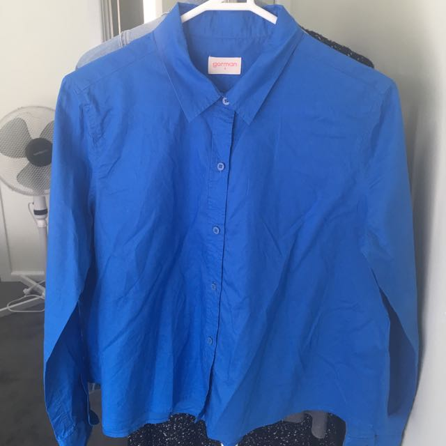 GORMAN Blue Weekender Button Up Shirt