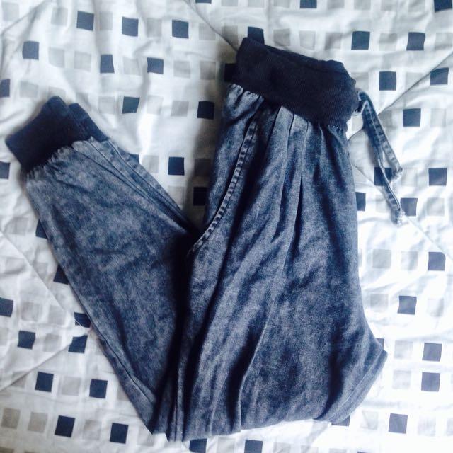 Gray Jogger Pants