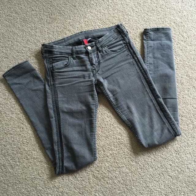 H&M Grey Jeans Size 6