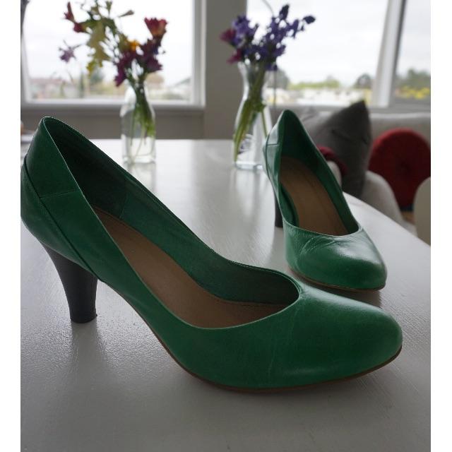 Isabella Anselmi Green Heels - Size 40