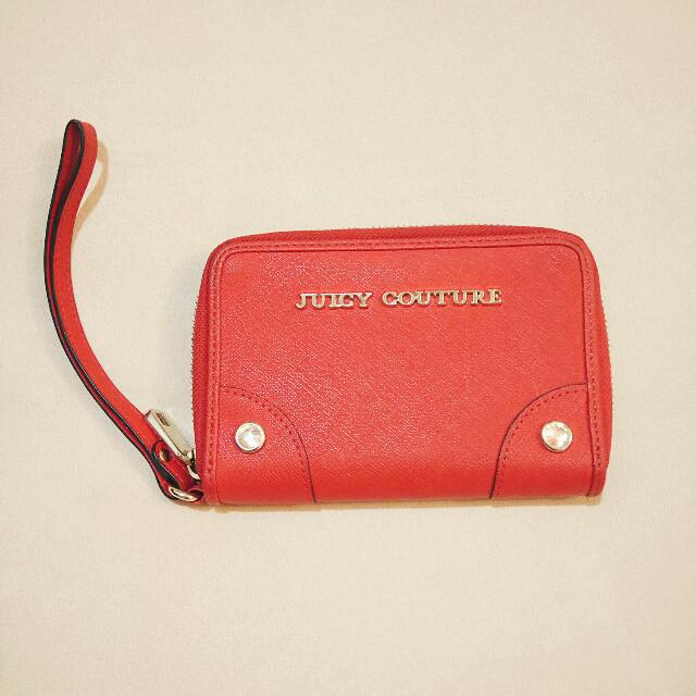 Juicy Couture 紅色手拿包
