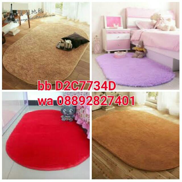 Karpet Oval 100x150cm