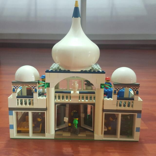 Lego MOC self-made creation North Indian Restaurant With