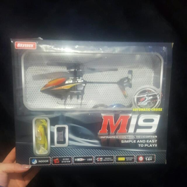 M19 INFARED CONTROL HELICOPTER AGES 14+ By Skytech 40mm In Length