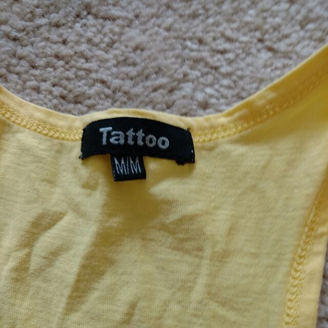 M racerbacks, detox and tattoo