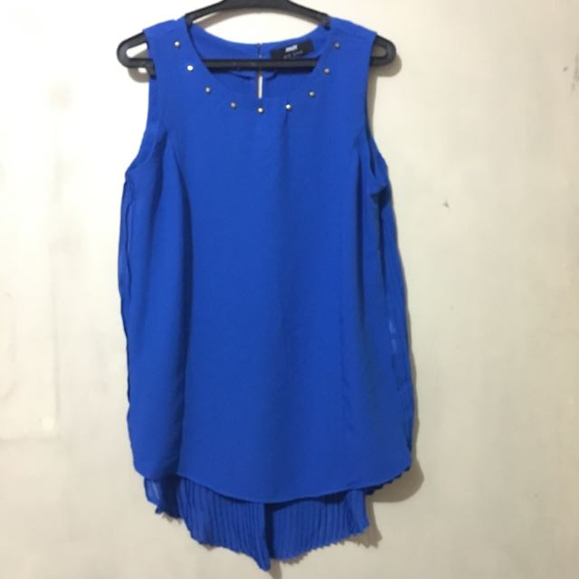 Max Blue Blouse