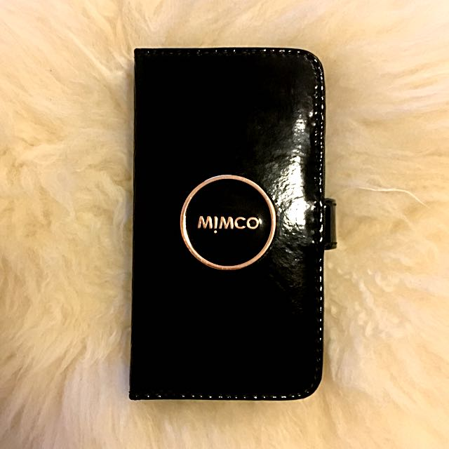 Mimco Rose Gold IPhone 6/S Wallet Case