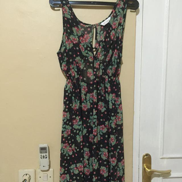 Omara Long Dress Transparan
