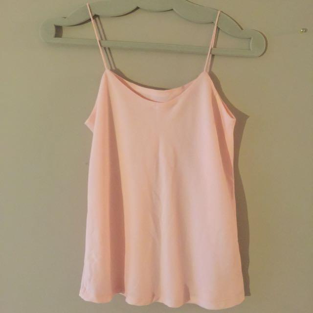 Pink Chiffon Cami