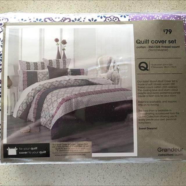 QB Quilt Cover