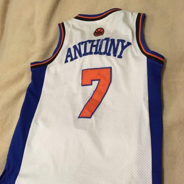 Replica White New York Knicks Jersey