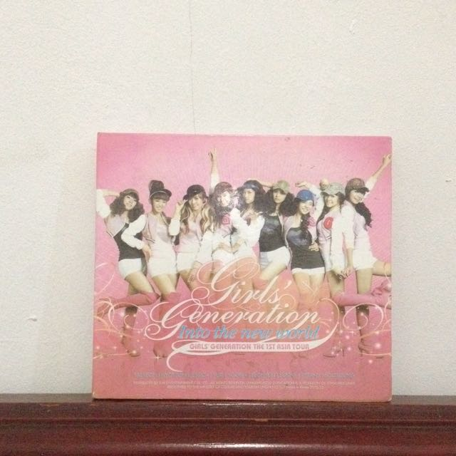 SNSD - Into The New World 1st Asia Tour