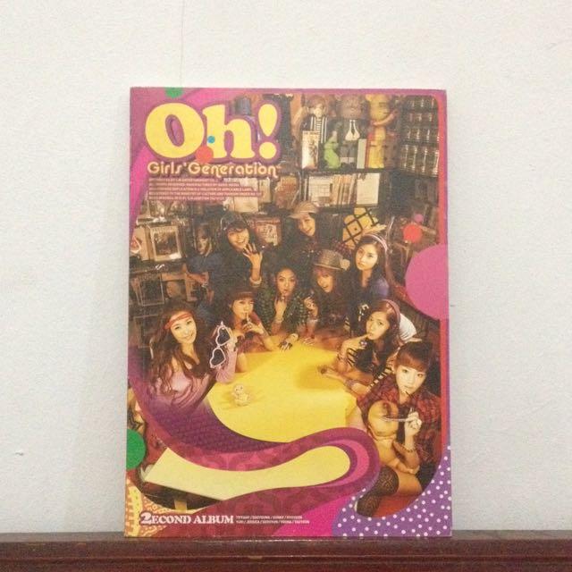 SNSD - Oh! Second Album