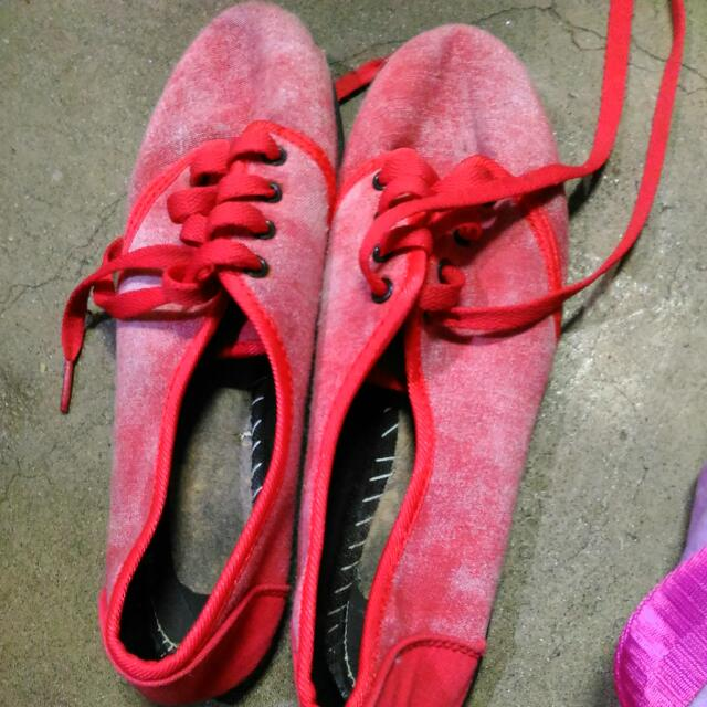 Solemate Red Shoes