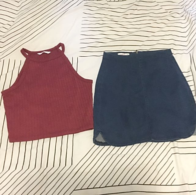Supre Skirt And Crop