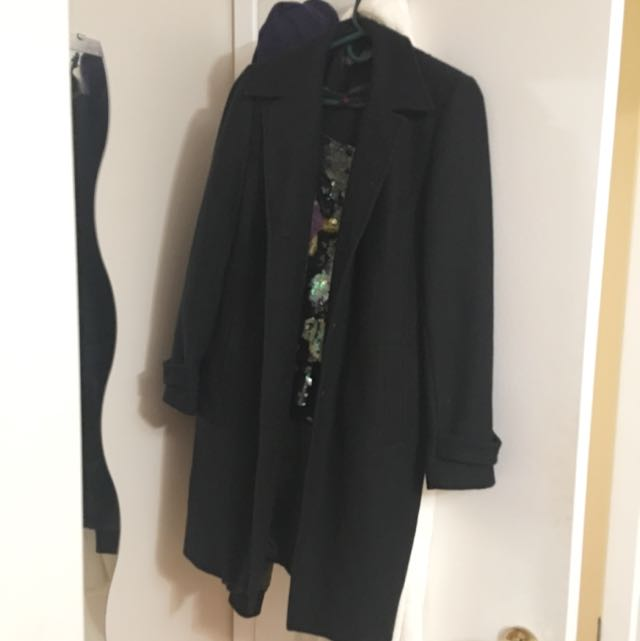 Trench Coat / Wool Coat