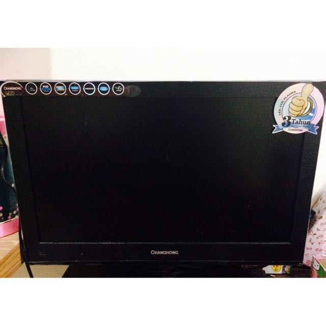 TV BEST SELLER! CHANGHONG TV (Black)