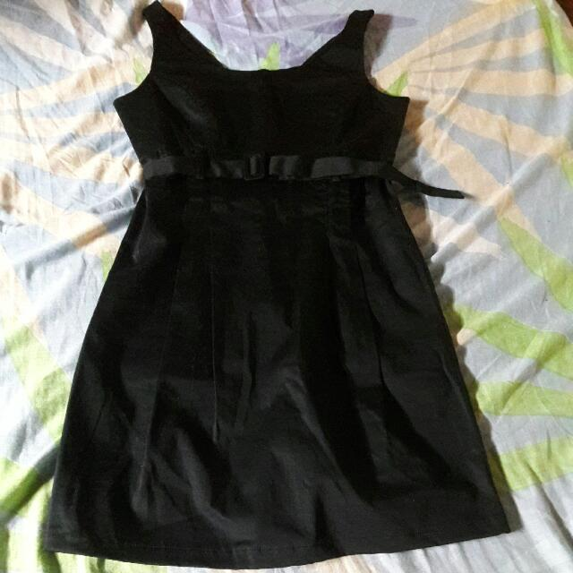 United Colors Of Benetton Black Dress