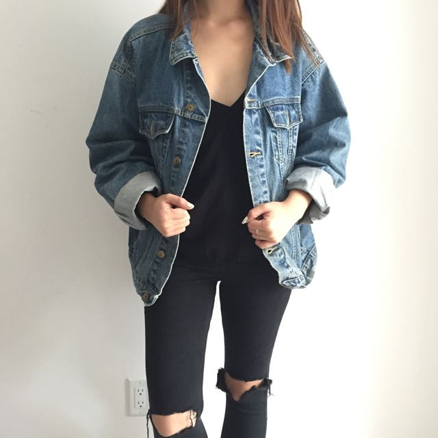 ON HOLD: Vintage Denim Jacket