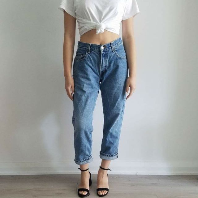 Vintage Levi's Cropped Jeans