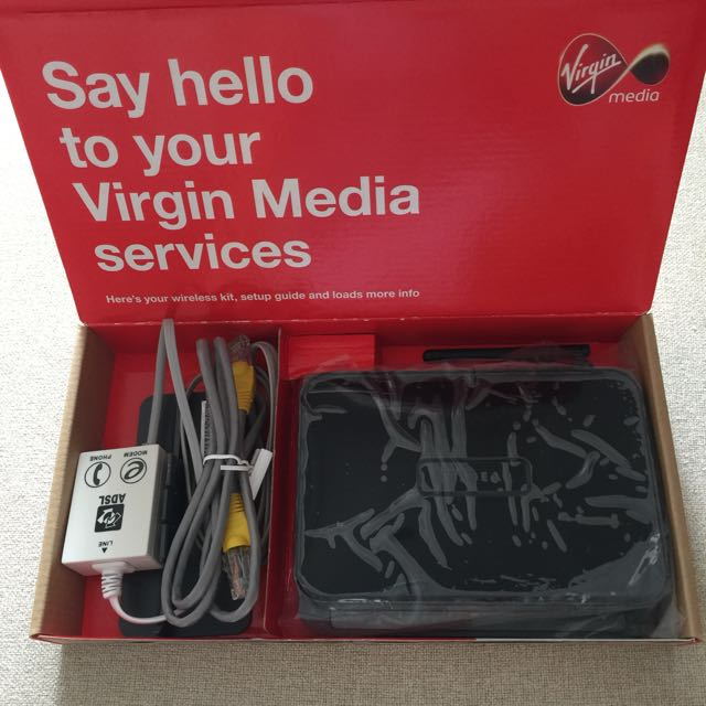 Virgin Media Wireless Modem