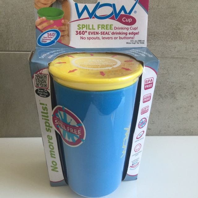 WOW CUP 360度喝水杯