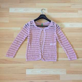United Colours Of Benetton Hand Knit Cardigan