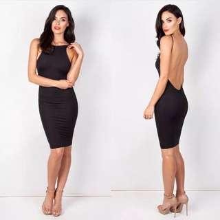 The Zachary Label 'Avery Dress' -black