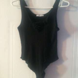 Zara Lace Up Body Suit