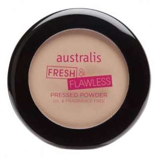 Australis Fresh And Flawless Face Powder Foundation