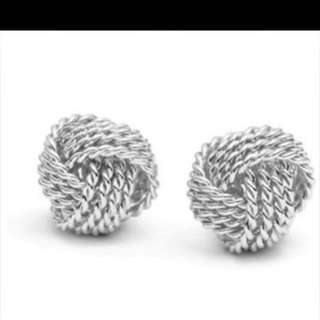 Tiffanys Knot Earrings