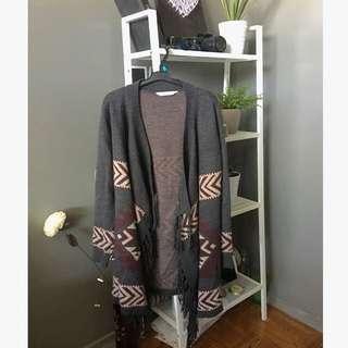 Scarf Fall Sweater