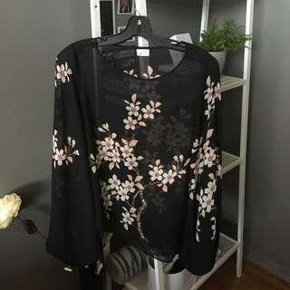 Suzy Shier Kimono Shirt