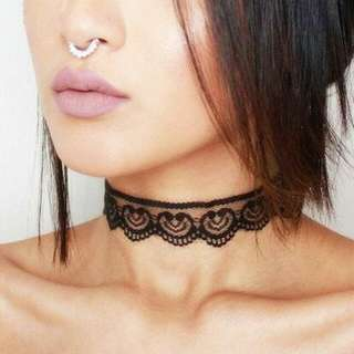 Lace Choker (Free Postage, Untracked)