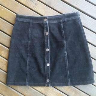 Minkpink Black High Waisted Skirt Size 10