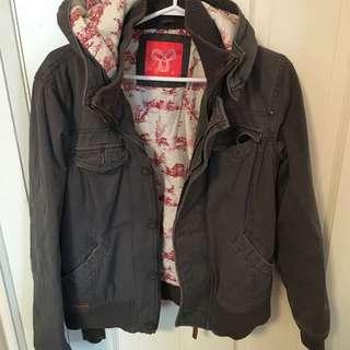 ARITZIA Fall Jacket In Grey