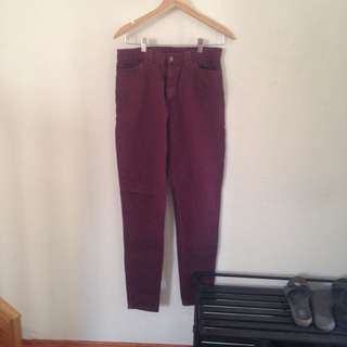 American Apparel High Waisted Pants